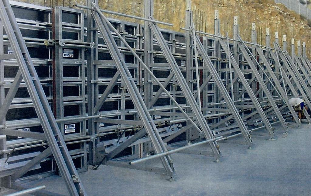 encofrado muro liria vela soporte venta cosaor