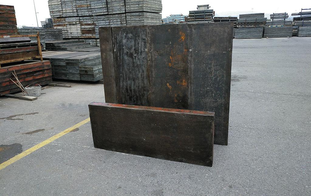 encofrado muro metalico cosaor