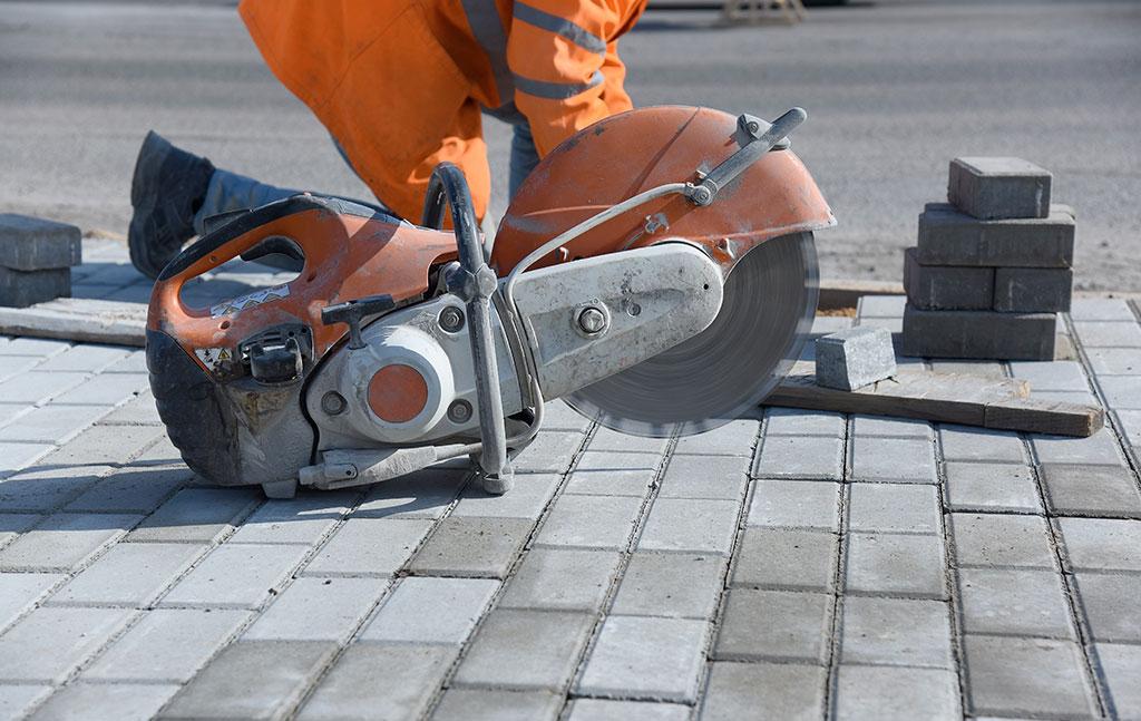 cortadora de cemento cosaor