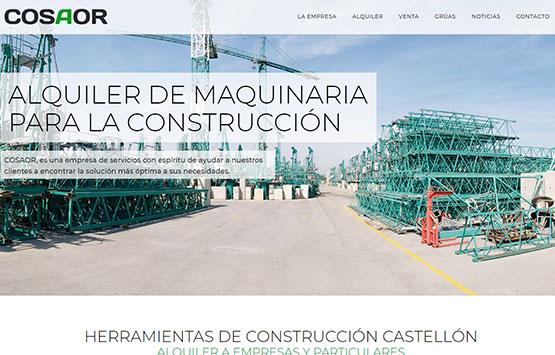 nueva web cosaor
